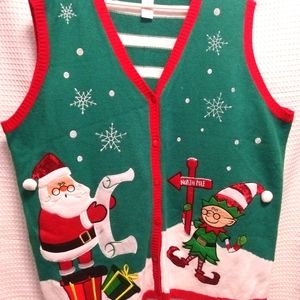 Christmas Ugly Sweater Vest